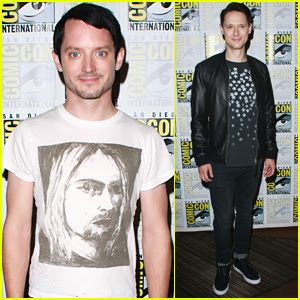 Elijah Wood & Samuel Barnett Preview 'Dirk Gently' Season 2 at Comic-Con - Watch!
