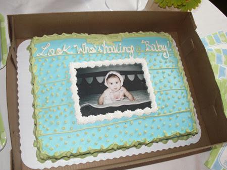 Blue Green Boy Baby Shower Ideas