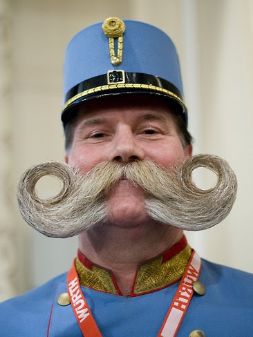 Best beards and moustaches