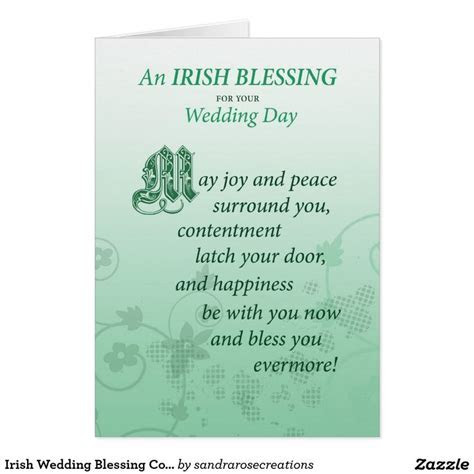17 Best ideas about Irish Wedding Blessing on Pinterest