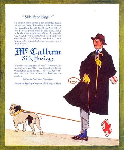 McCallum Hosiery ad, 1914