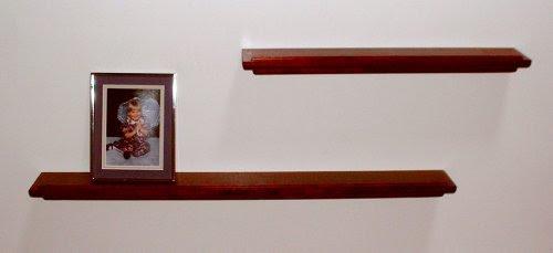 Cherry Wood Floating Shelves 15 Image Wall Shelves