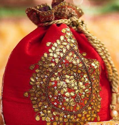 Hindu Wedding Favors   Potli   Indian Wedding Favor