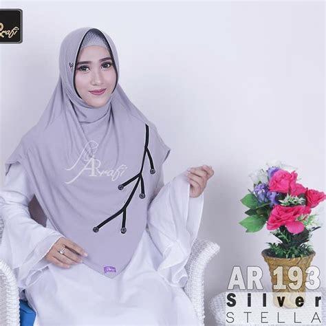 model hijab arrafi terbaru  tutorial hijab terbaru