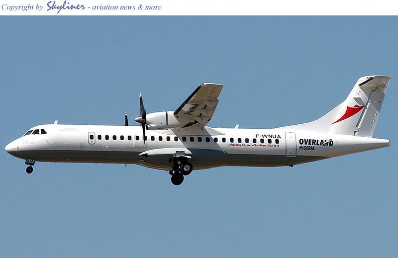Overland Airways ATR72