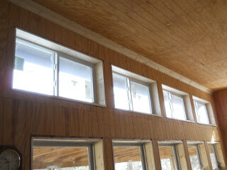Great Room Upper Windows Inside Sills