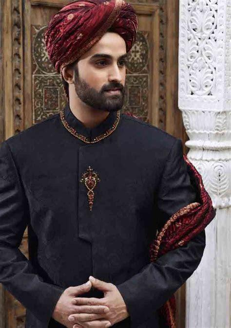 Wedding Sherwani Designs For Groom Barat In 2019   band