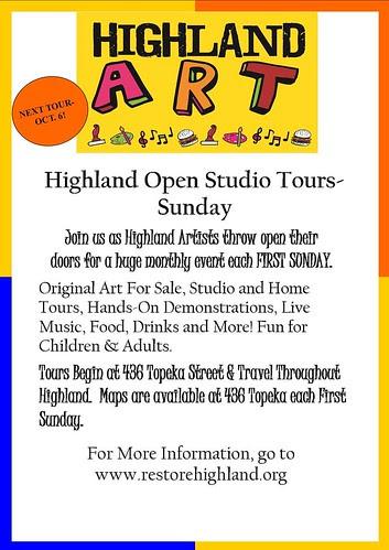 Highland Art Tour, Shreveport by trudeau