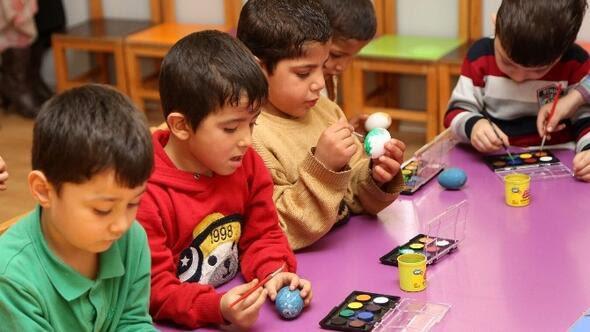Gaziantep Haberleri şehitkamilli Minik öğrencilerden Yumurta