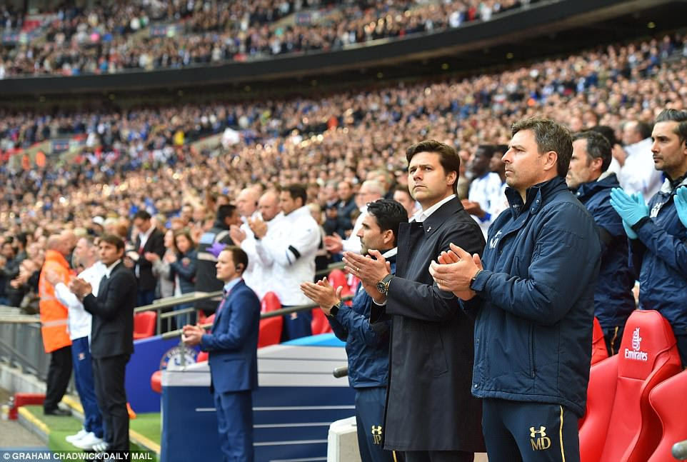 Spurs boss Mauricio Pochettino pays his respects to former colleague and Spurs Under 23 boss Ehiogu