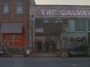 And here we have... an opening shot that is completely unrelated to the rest of the film.