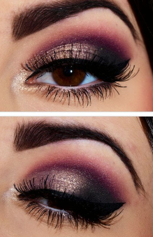 Best Smokey Eye Makeup Tutorial Step by Step Ideas with ...