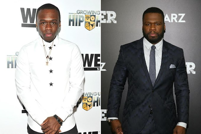 50 Cent's Son Marquise Reacts to Dad Saying He'd Choose Tekashi 69 Over Him