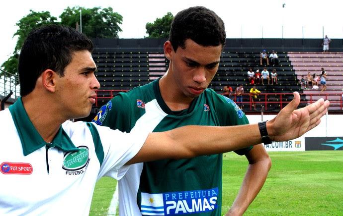 Copinha - Imagine - John Hebert e Felipe (Foto: Cassio Barco)