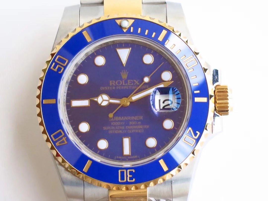 Rolex Submariner 116613 Blue Dial