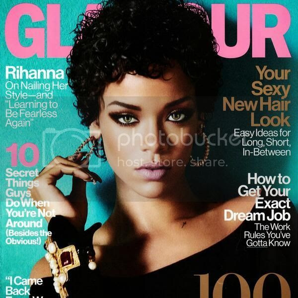 Rihanna covers Glamour's November issue...