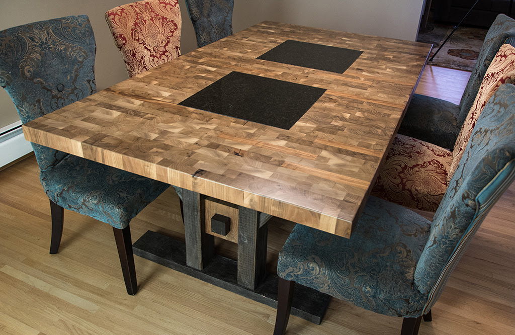 Custom Furniture Regina: Butcher Block Style Dining Table  FineWoodworking