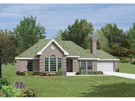 smithfield modern european home plan   house