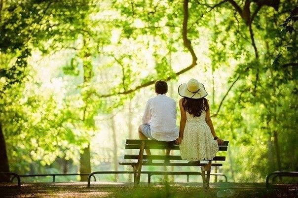 Image result for couple in a park