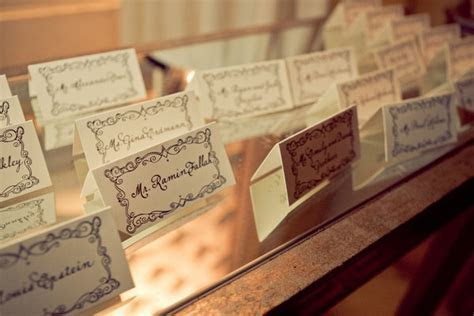 Masquerade Place Cards   Event Planning   Pinterest