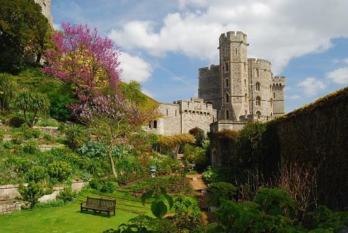 Castillo de Windsor  castillos medievales