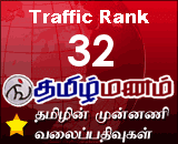 Tamilmanam Tamil blogs Traffic Rank