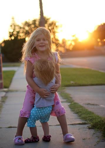 An Evening Walk with my Girls Sept 2012 14