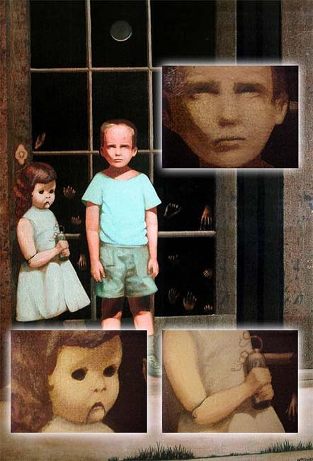 Pintura embrujada eBay