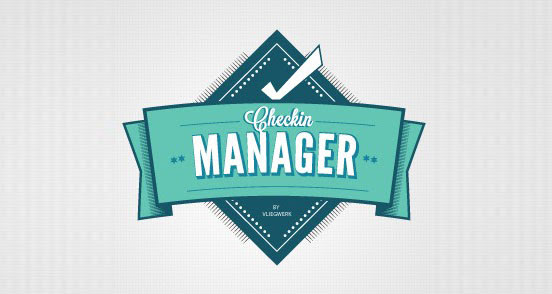 checkin manager l1 30 Creative Ribbon Logo Designs