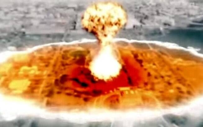 Vídeo divulgado pela Coreia do Norte em 2013 mostrava ataque nuclear em Nova York