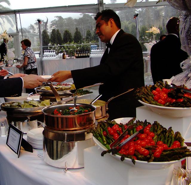DSC04289 pasta and vegie buffet