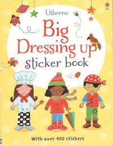 Picture of Big Dressing Up Sticker Book