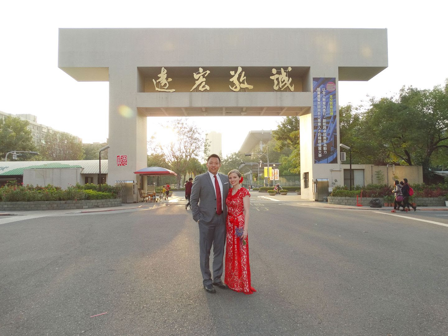 Michael and Michelle at Kaohsiung Normal University photo KNU-Wedding-1_zps7c330dac.jpg