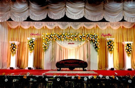 indian wedding stage decor   Google Search   Stage decor