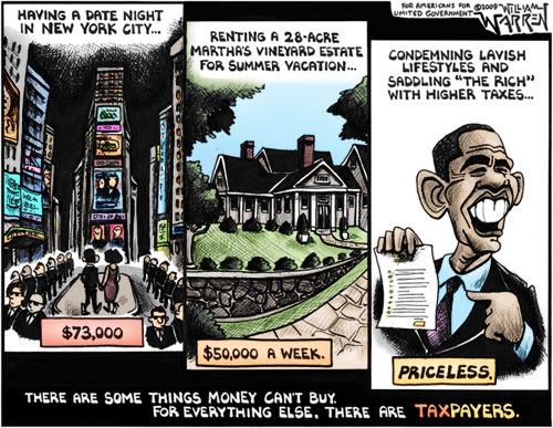 Barack Obama Visa Mastercard