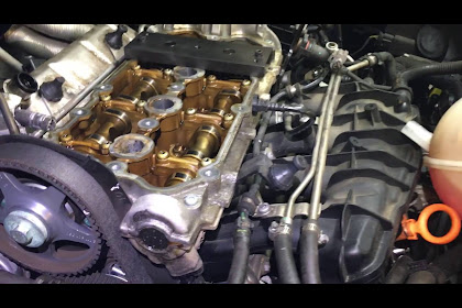 2006 Audi A4 Camshaft Replacement