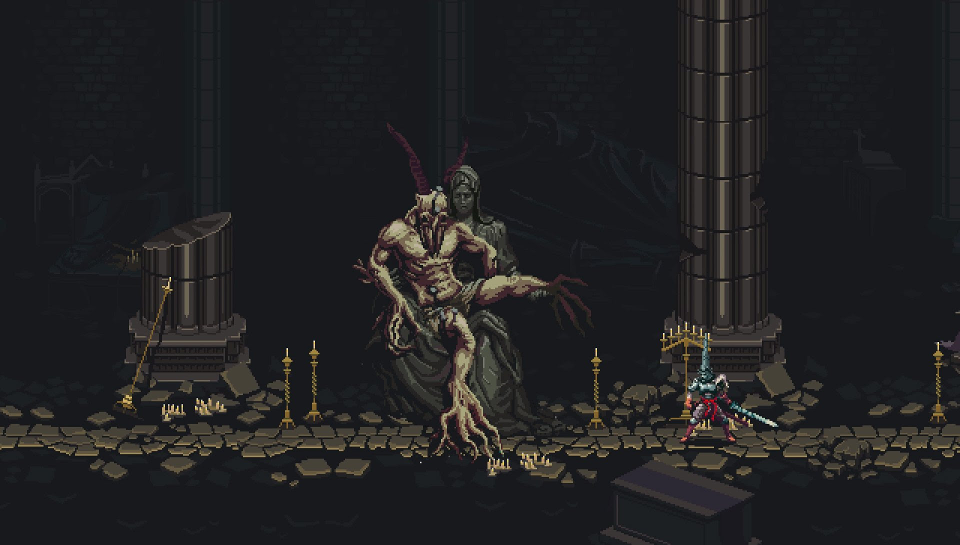 Blasphemous is another action-platformer to watch screenshot