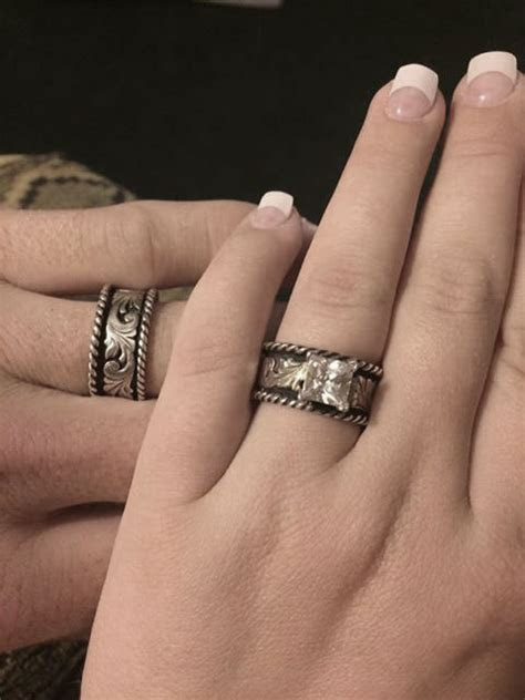 Western Silver & Rope Ring   Ring Collection by Hyo Silver