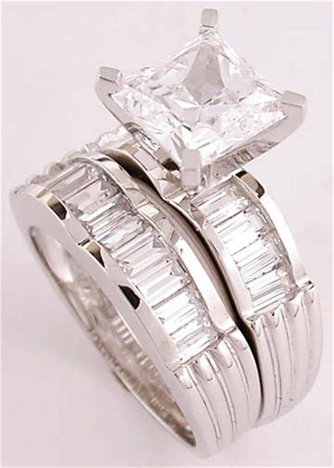 35 best ideas about cz wedding sets on Pinterest   White
