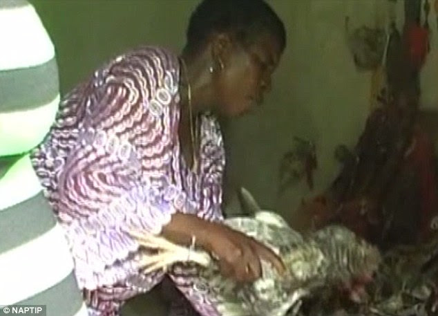 Voodoo rituals used to trick Nigerian women into prostitution in