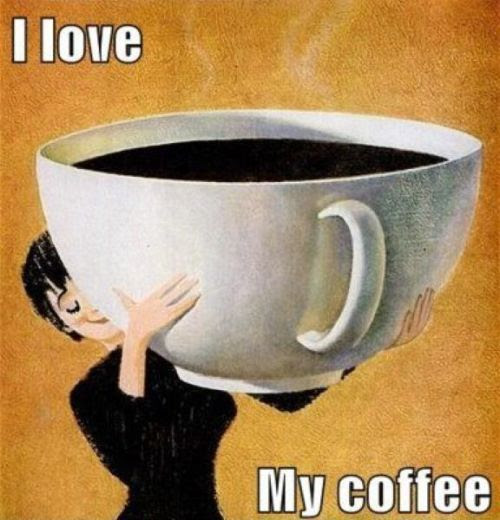 I Love My Coffee Funny Image Pictures, Photos, and Images ...