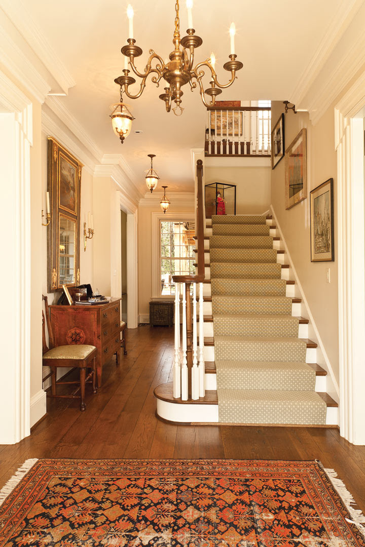 Stylish staircases and Inviting entryways | Atlanta Home ...