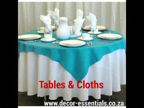 Events Decor Essentials South Africa   YouTube