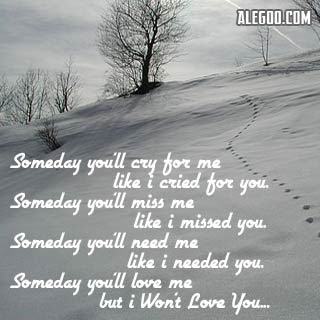 Sad Love Quote I Cried For You Quotespicturescom