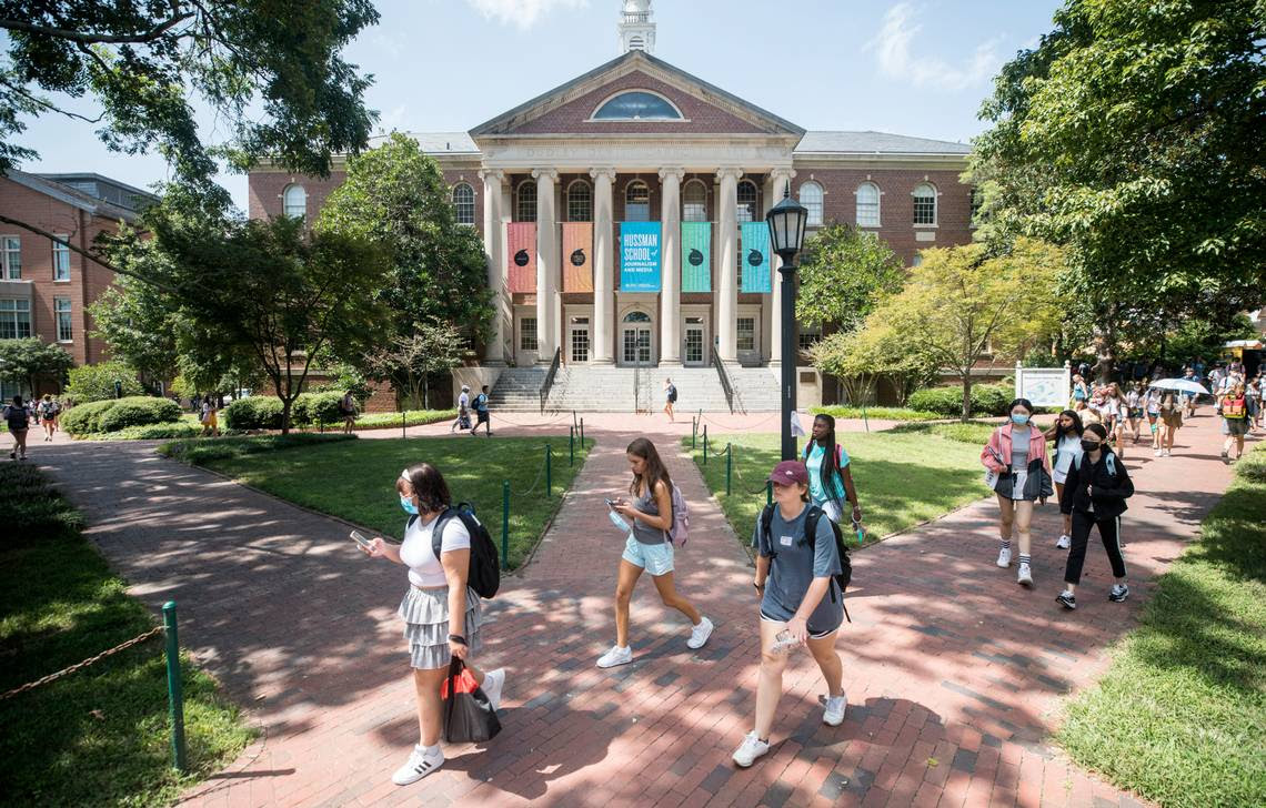 Controversial UNC journalism donor Hussman comes to campus, but won't meet with faculty