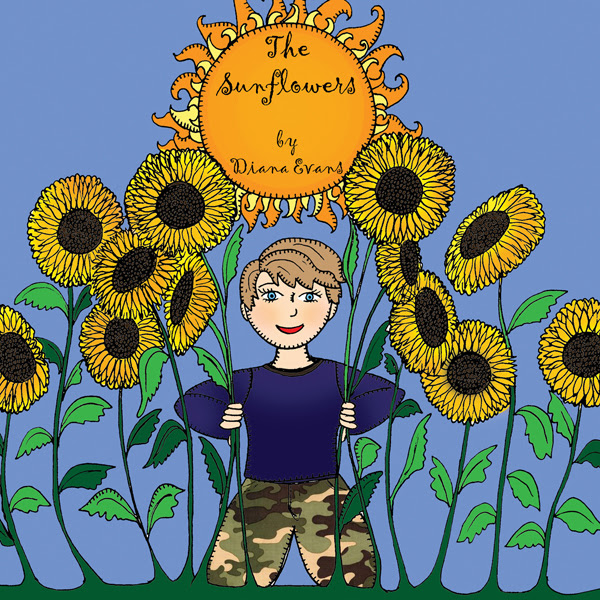 My latest picture book - The Sunflowers by Diana Evans