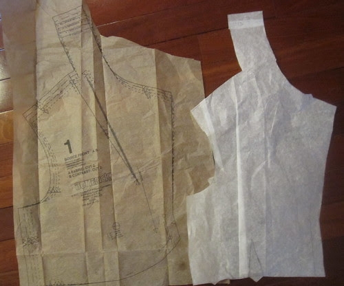 Front Bodice with Original