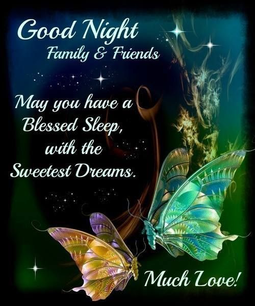 Good Night Family Friends Pictures Photos And Images For