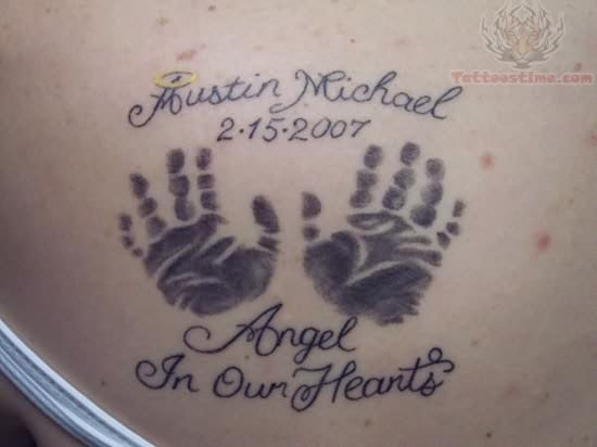 Memorial Tattoo On Women
