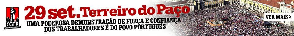 Uma poderosa demonstração de força e confiança dos trabalhadores e do povo português
